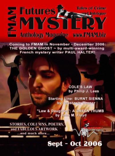 Futures Mystery Anthology Magazine cover